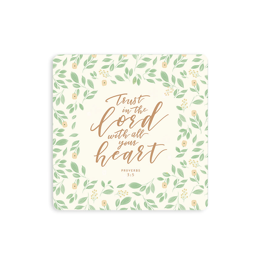 Trust In The Lord {Coasters}