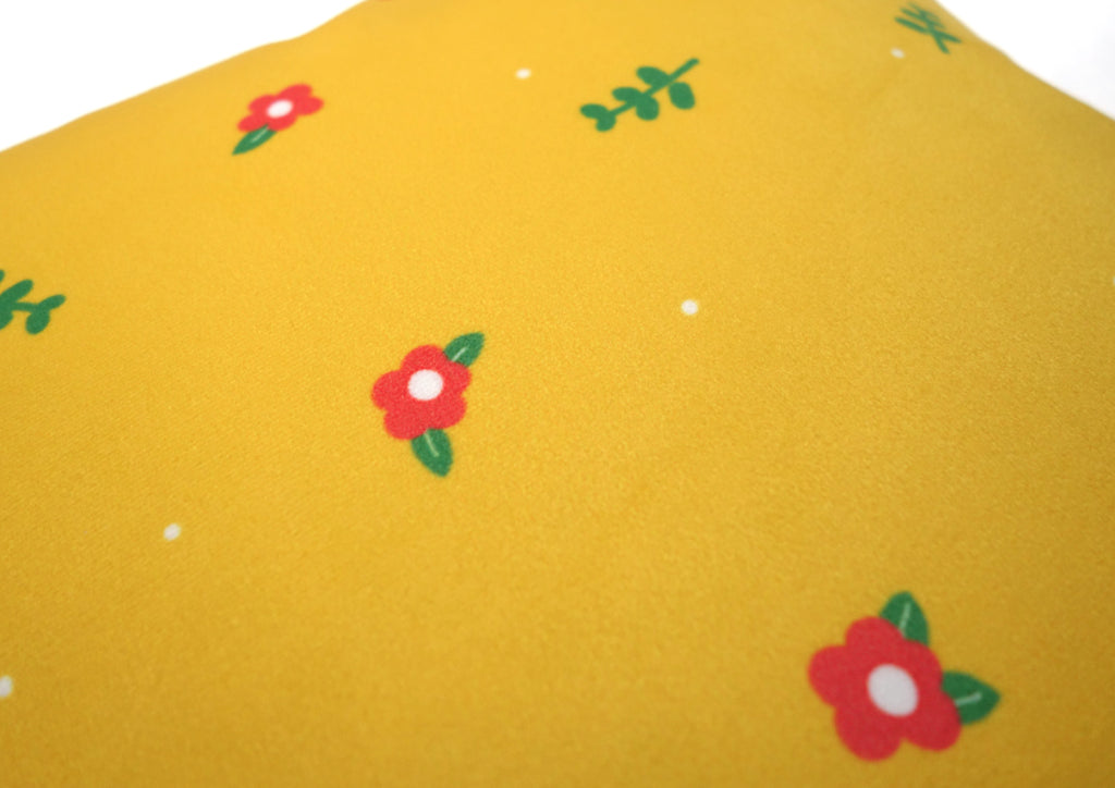 Close up design of cushion cover. Super soft velvet material cushion cover.