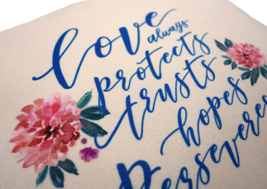 Love Always {Cushion Cover}