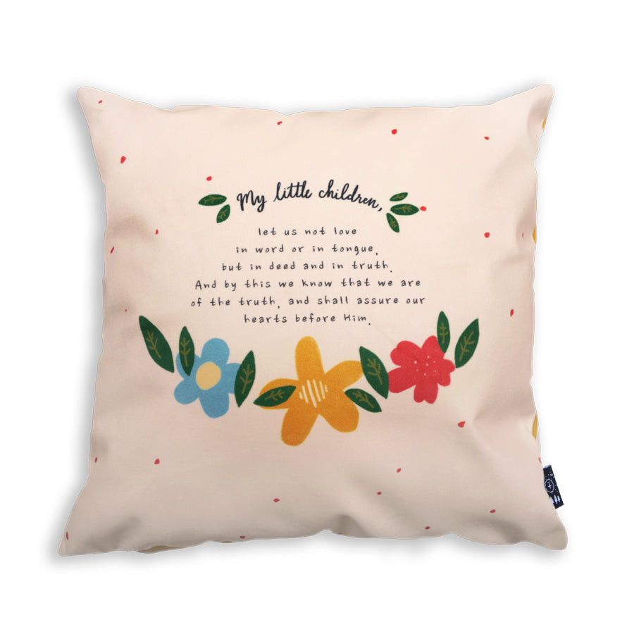 Faith based home deco Pillow case design for house warming gifts