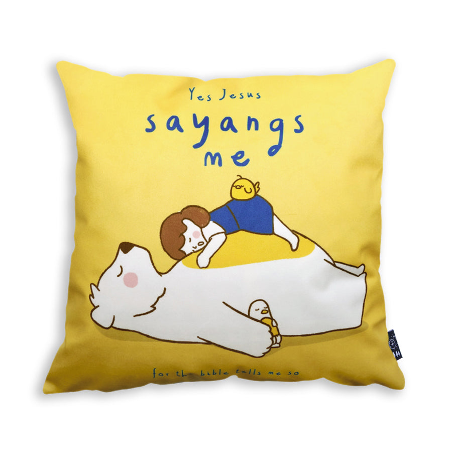 Yes Jesus sayangs me pillow cover