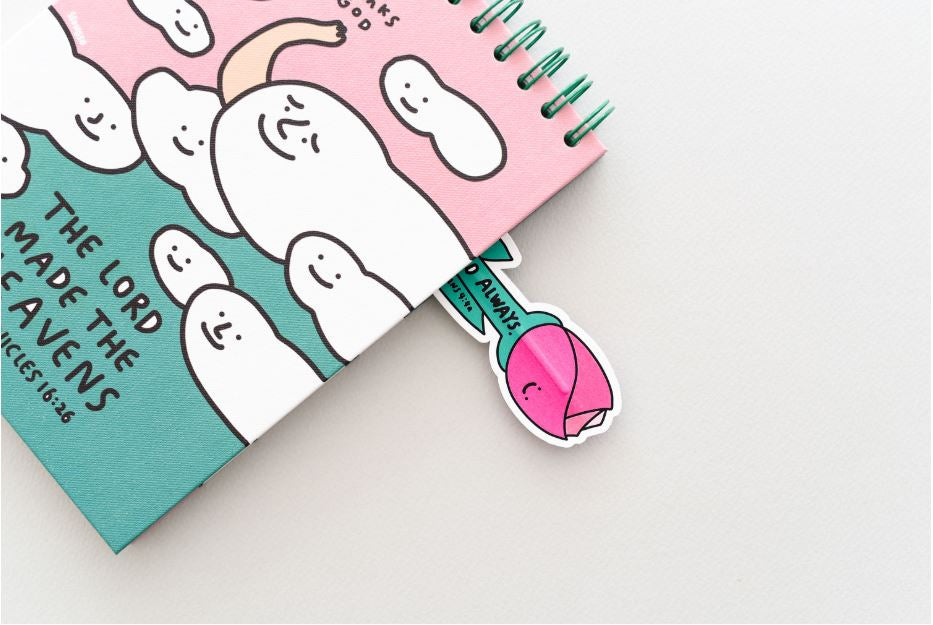 Convenient and cute style merges together in this cute designer bookmark ballpoint pen