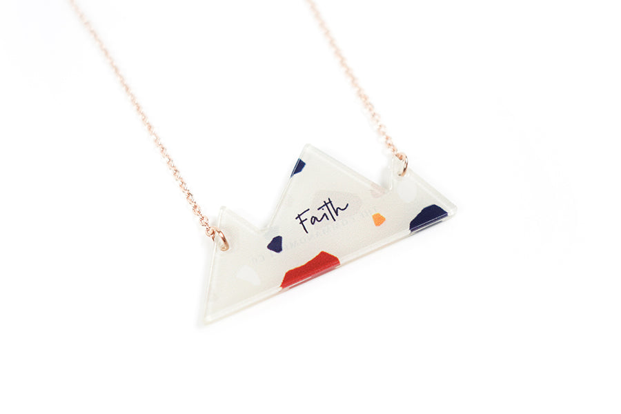 Faith {Mountain Necklace}