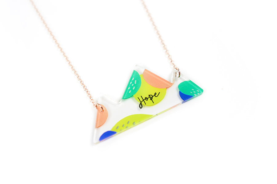 Hope {Mountain Necklace}