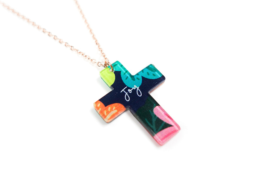 Joy {Cross Necklace}