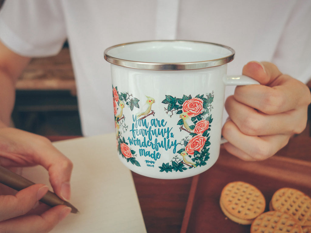 Spend your quiet time with a cup of tea to motivate you to dive deeper into God;s love.