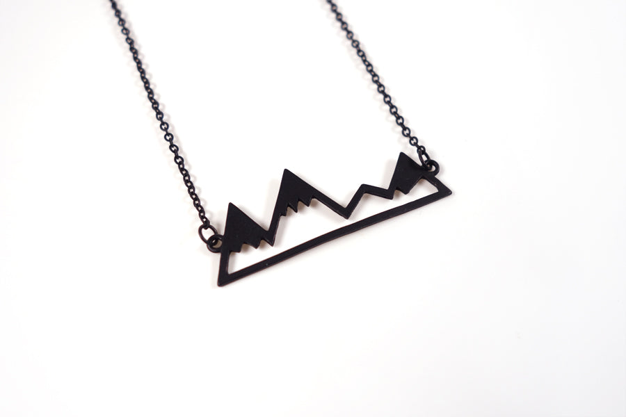 Faith + Mountains {Necklace}