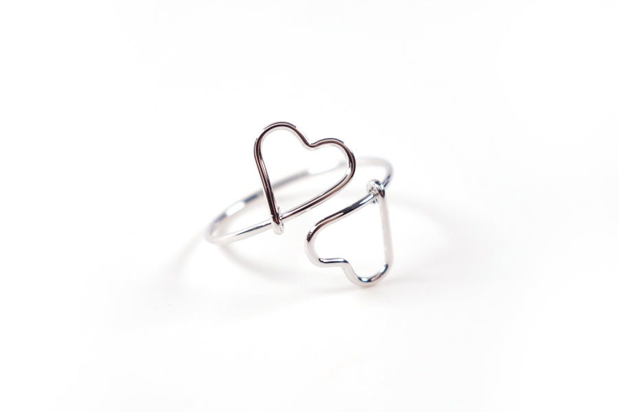 Your love ring is also available in silver