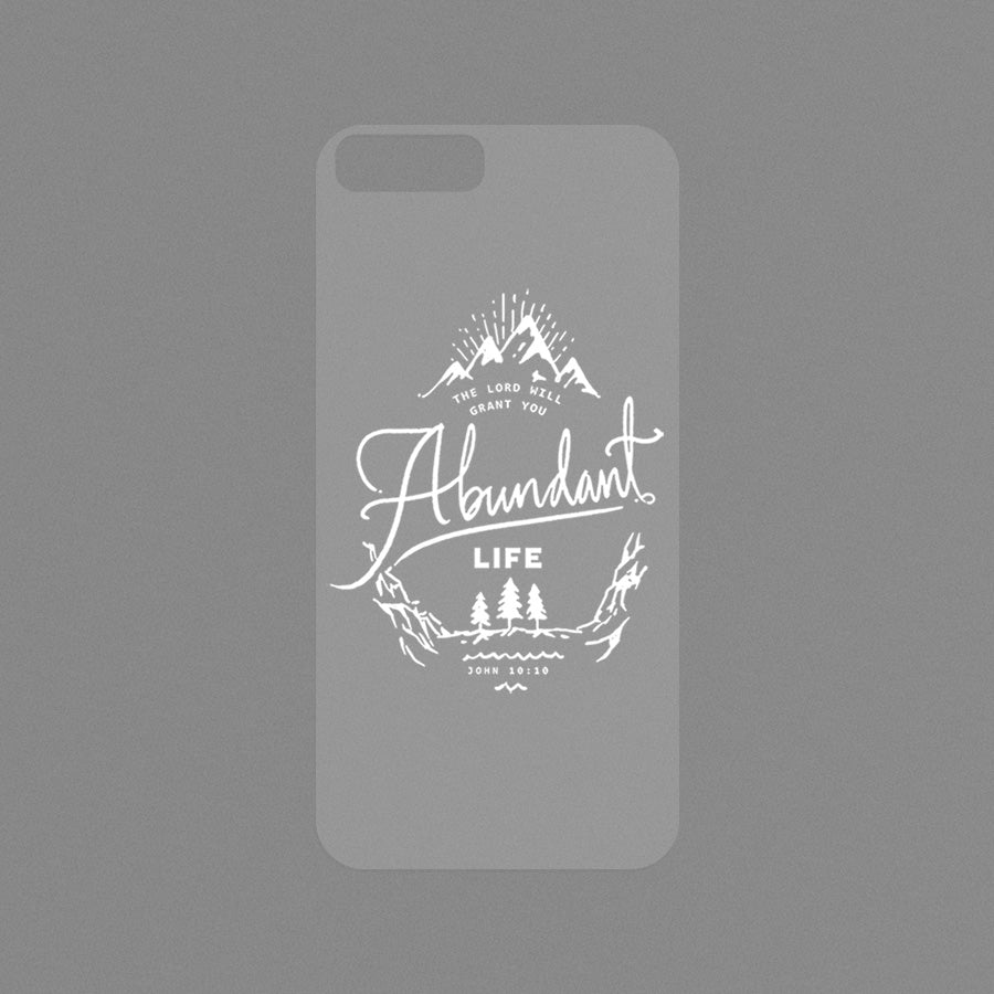 Transparent Modicase films (verse) for personalising Iphone cases.