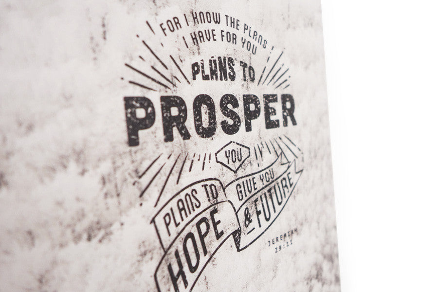 Plans To Prosper You {Wood Board}