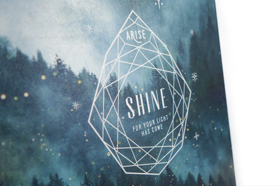 Arise, Shine {Wood Board}