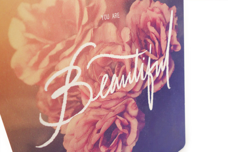 Beautiful Beyond Description {Wood Board}