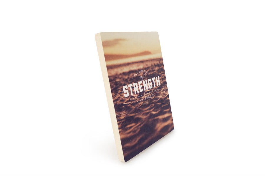 Strength {Wood Board}