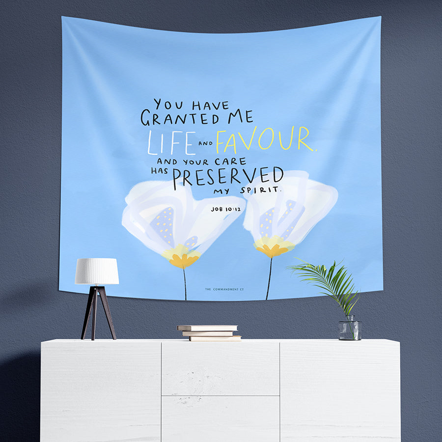 Life & Favour {Wall Tapestry}