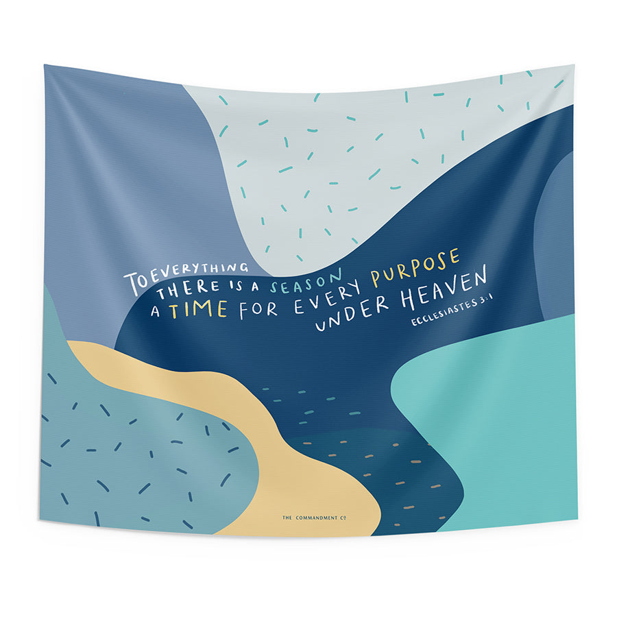A Time For Every Purpose {Wall Tapestry}