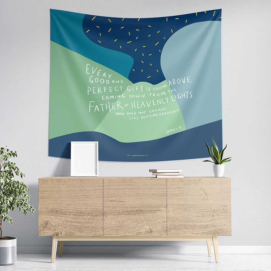 Every Good and Perfect Gift {Wall Tapestry}