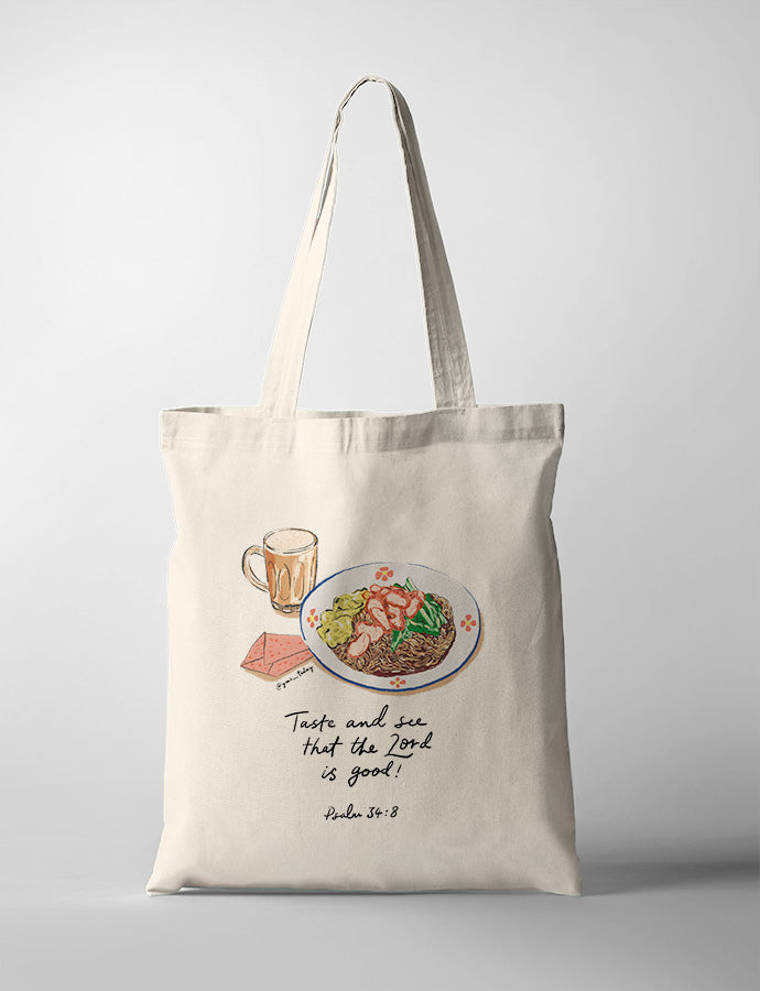 Taste and See (Wonton) {Tote Bag}
