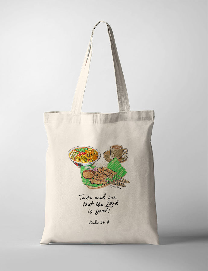 Taste and See (Satay) {Tote Bag}