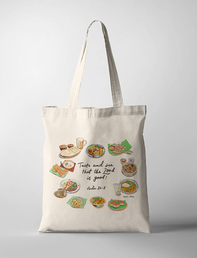 Taste and See (Foodie V2) {Tote Bag}
