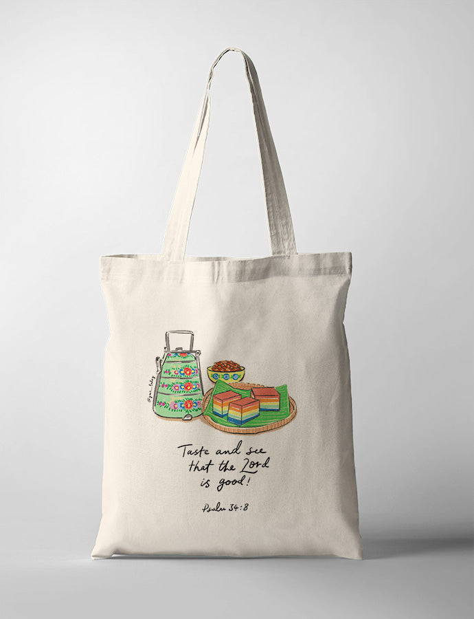 Taste and See (Nonya Kueh) {Tote Bag}