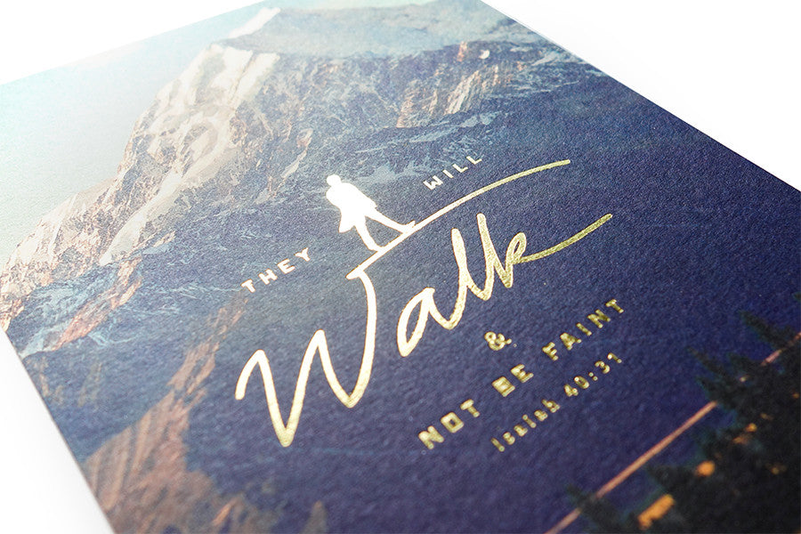 Walk & Not Be Faint {Card}