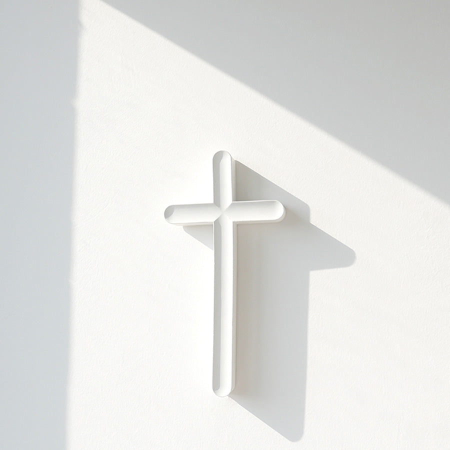 minimalist wall cross for home deco by tcco