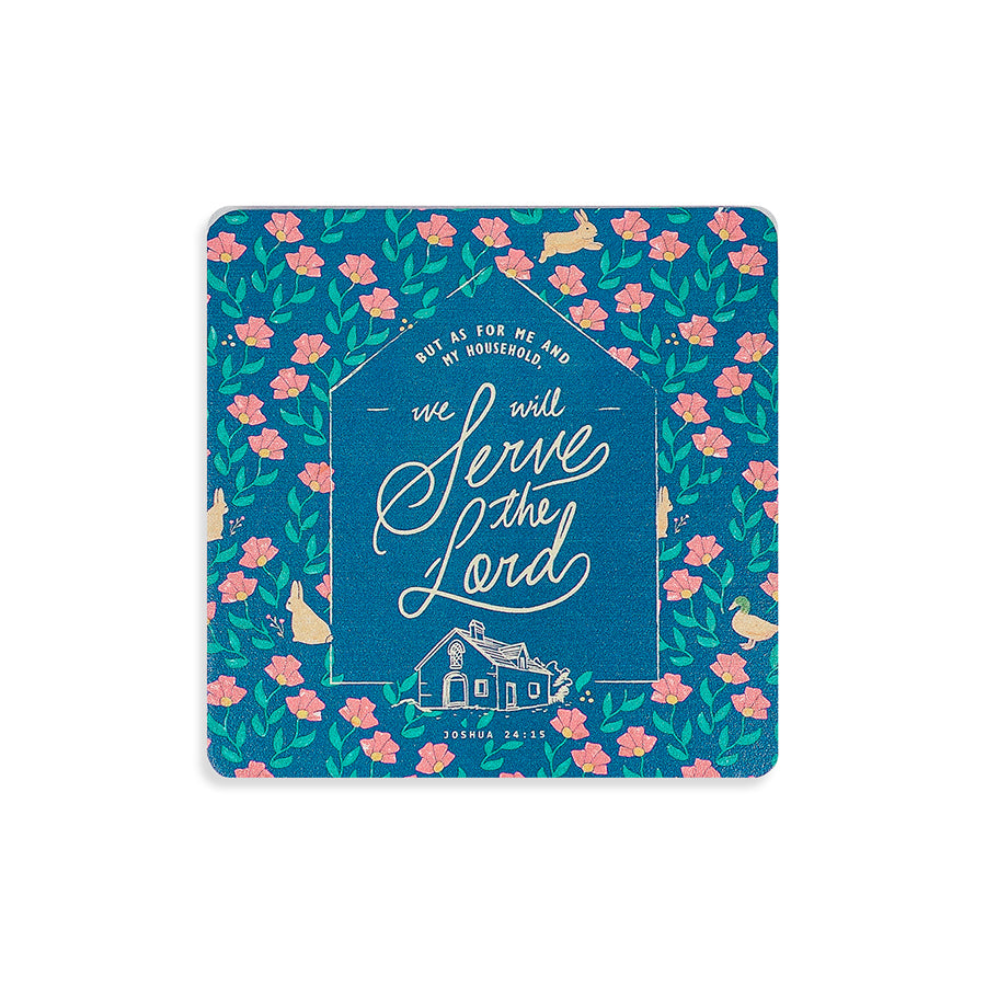 Serve The Lord {Coasters}