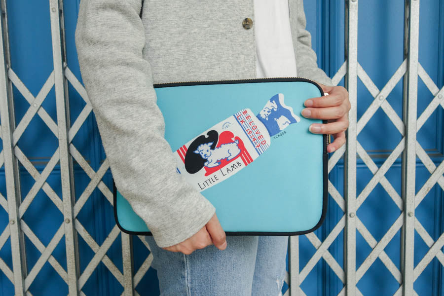 Little Lamb Sweet | Laptop Sleeve {LOVE SUPERMARKET}