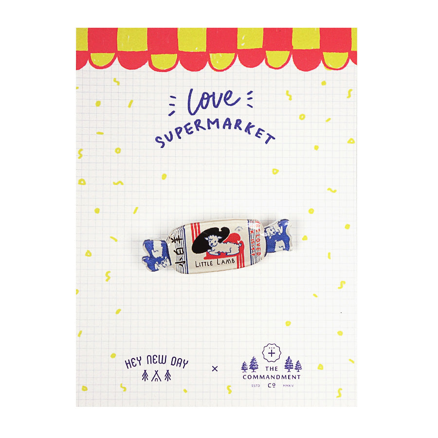 Little White Lamb Sweet {LOVE SUPERMARKET Pins}
