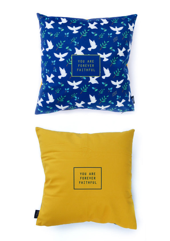 hey new day x the commandment co forever faithful velvet cushion cover
