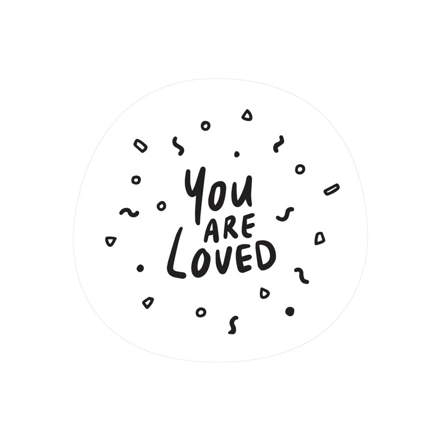 You are Loved {Mirror Decal Sticker}