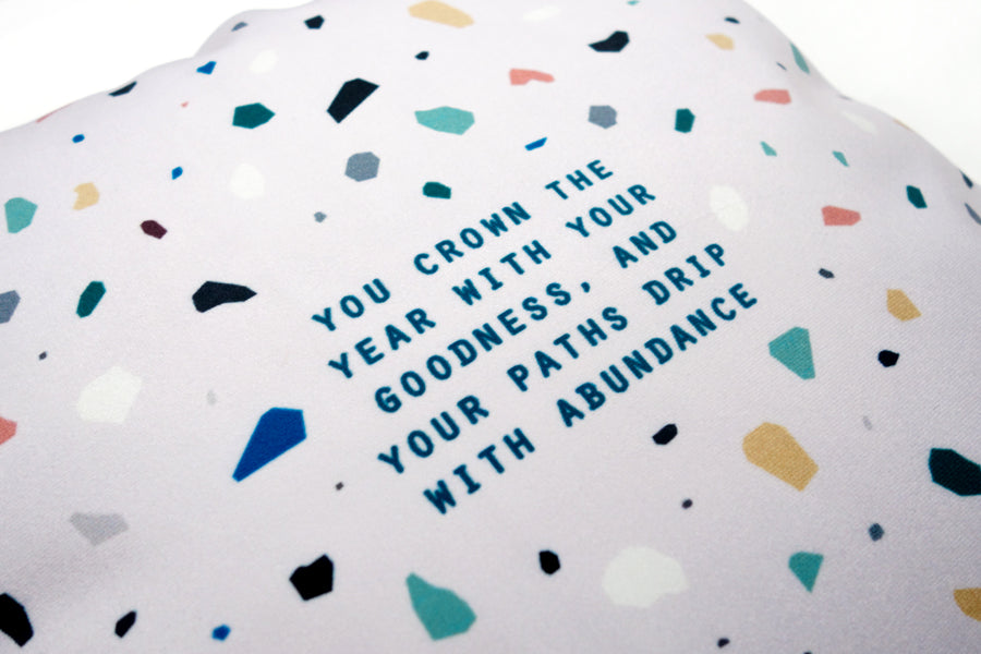 Goodness and Abundance {Cushion Cover}