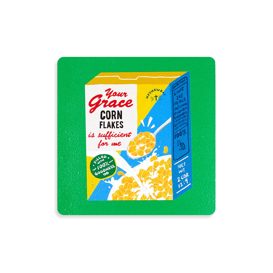 Grace Cereal | Coasters {LOVE SUPERMARKET}