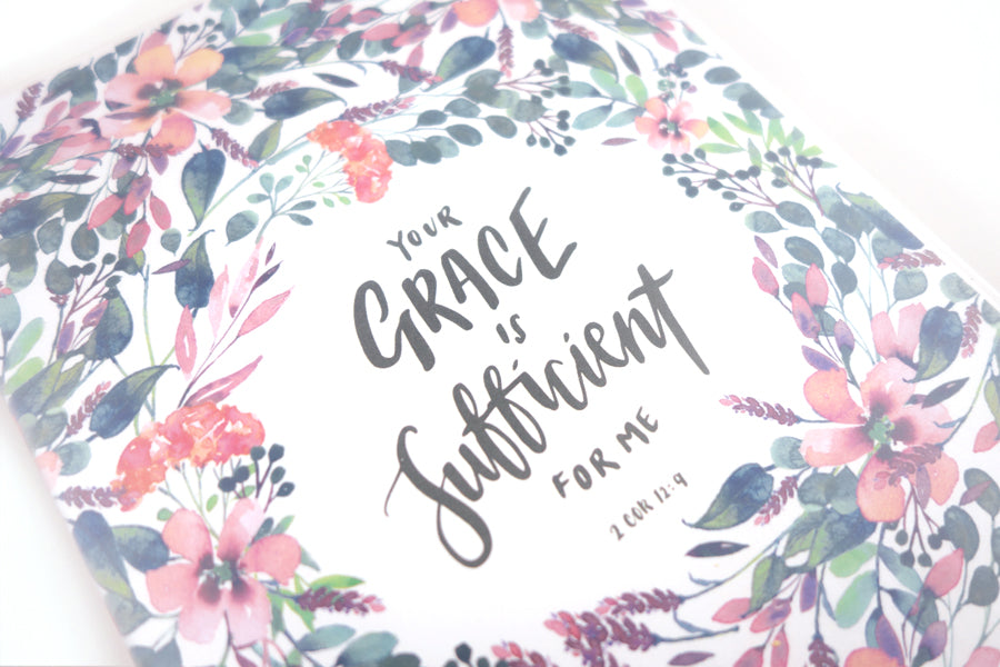 Grace Is Sufficient {A5 Notebook}