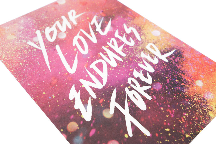 Your Love Endures Forever {Card}