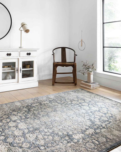 TEAGAN DENIM / MIST RUG