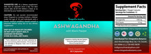 Load image into Gallery viewer, Ashwagandha Stress Control with Black Pepper