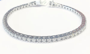 4ct Total Weight Diamond Tennis Bracelet