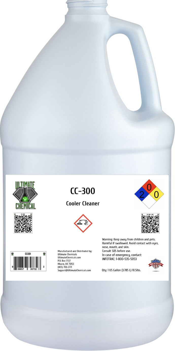 CC-300 - Cooler Cleaner