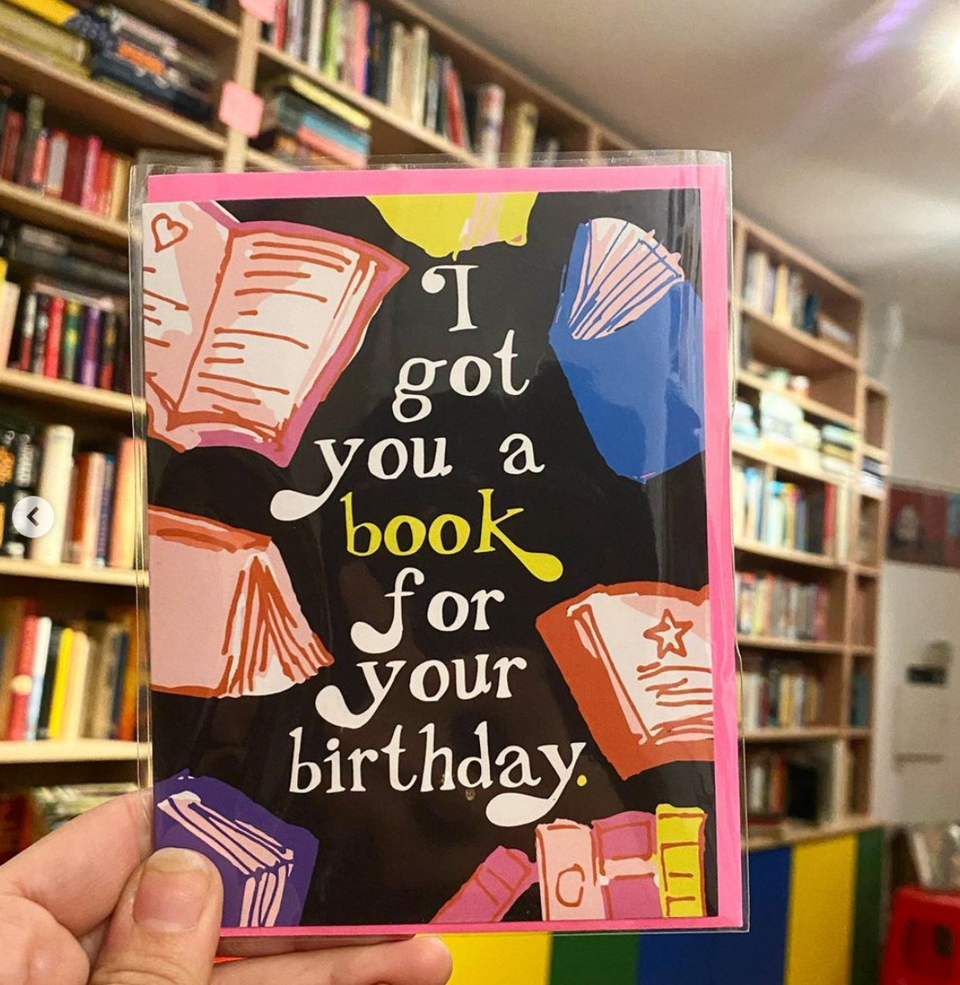 Ash & Chess: I Got Your a Book For Your Birthday Card
