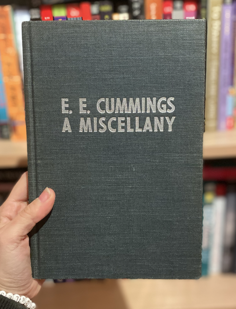 EE Cummings: A Miscellany