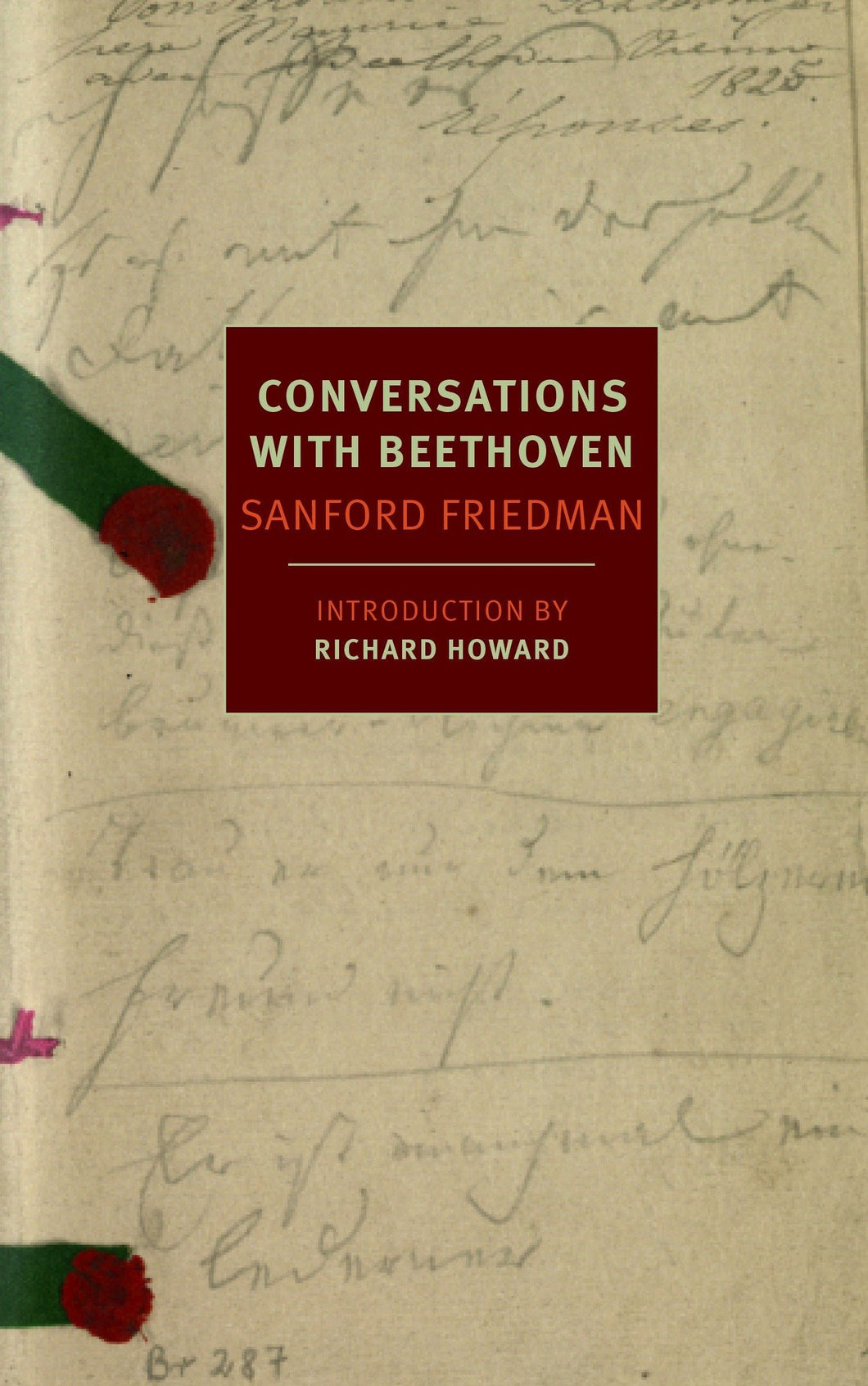 Conversations with Beethoven by Sanford Friedman