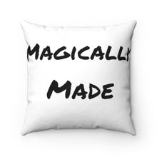 Load image into Gallery viewer, Magically Made x Tragically Magic Spun Polyester Square Pillow
