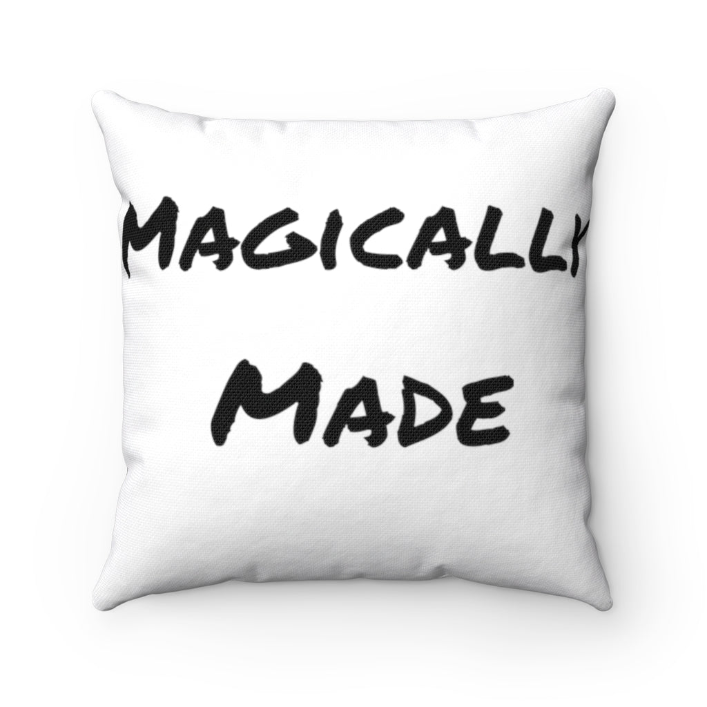 Magically Made x Tragically Magic Spun Polyester Square Pillow