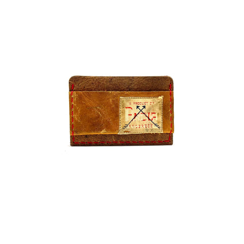 Cash Strap Baseball Glove Slide-In Wallet