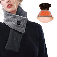 Load image into Gallery viewer, Graphene Smart Heating Scarf For Neck Pain Relief (With 5000 mAh Power Bank)