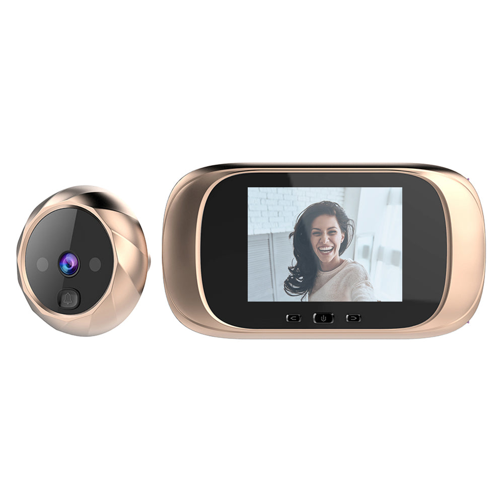 Smart WiFi Video Doorbell With Night Vision