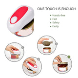 Mini Hands-Free Electric Can Opener for Individuals, Arthritis and Housewife