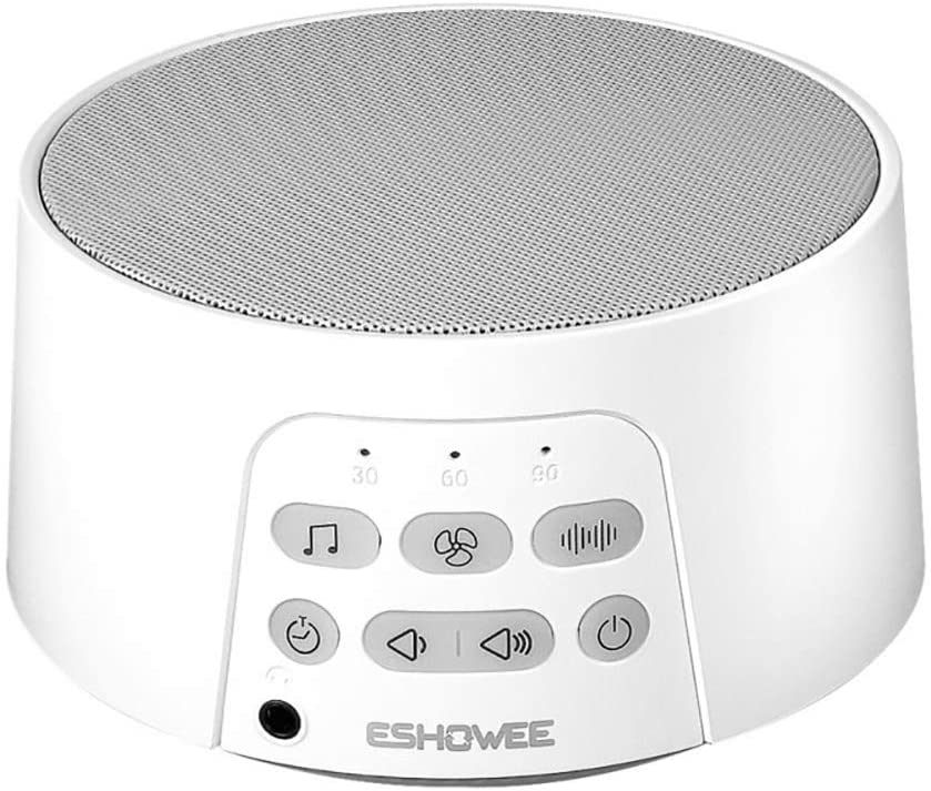 Premium White Noise Machine, White