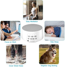 Load image into Gallery viewer, Premium White Noise Machine, White